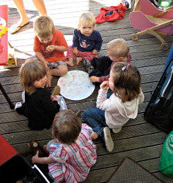 German Playgroup Children